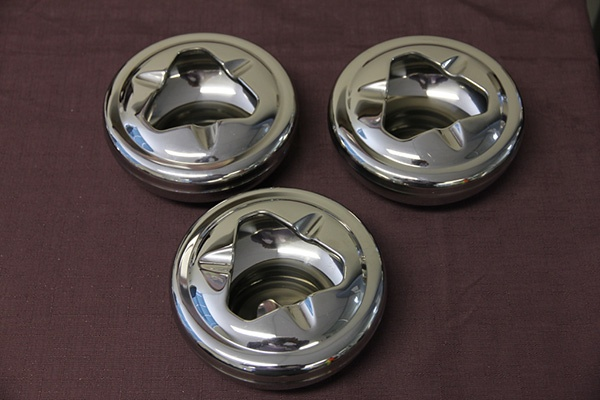 Stainless Steel (Large) Windproof Table Ashtrays