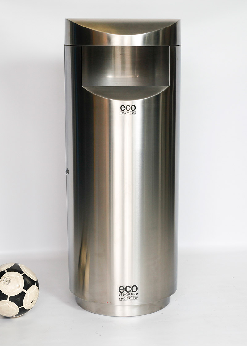 Eco Elite Giant Outdoor Indoor Stainless Steel Front