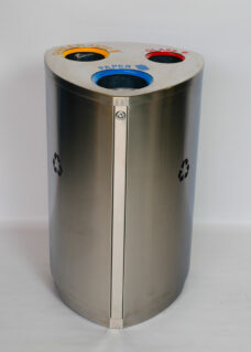 Hygienic Recycle Bin with 3 Inner Liners