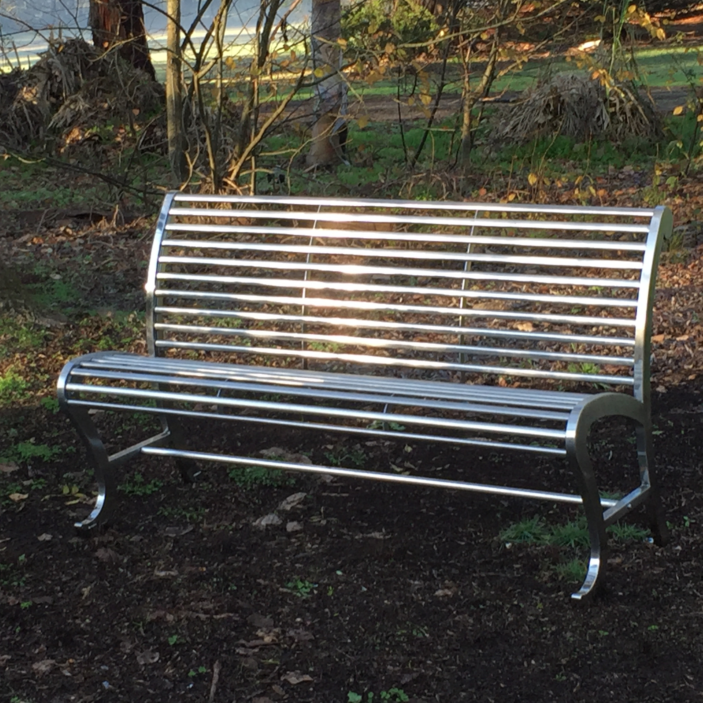 Stainless Steel Park Benches 28 Images Sculptural Modern Stainless Steel Park Bench For Sale