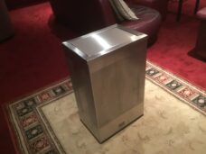 Swing Lid Stainless Steel Bins