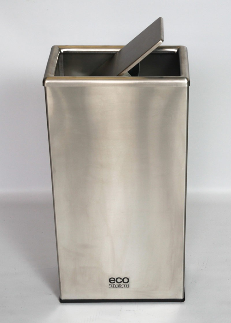 Stainless Steel Waste Bins Site Furnishings Trash