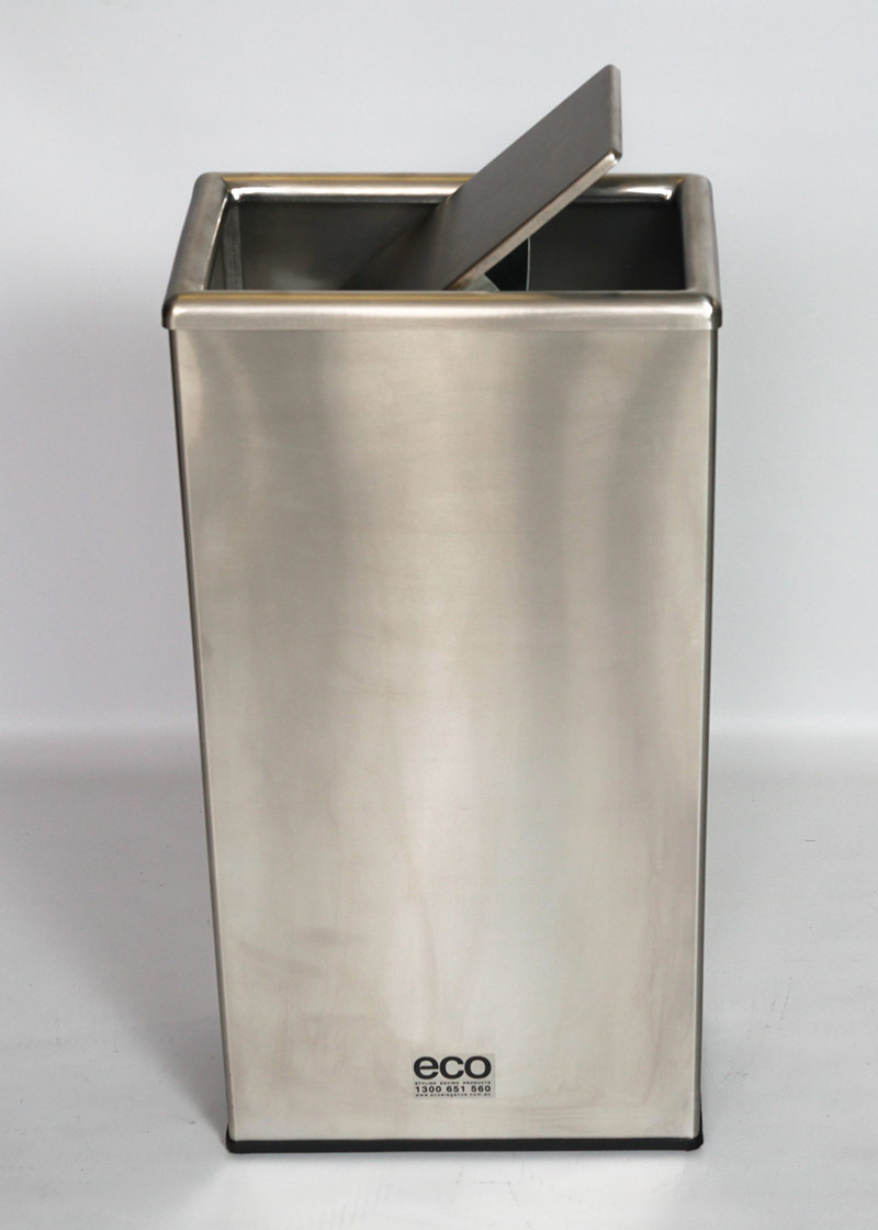 Model 12780829rectangular Waste Bin on outdoor trash receptacles commercial