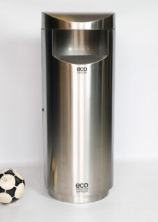 Eco Elite - giant stainless steel outdoor bin