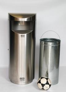 Eco Elite - giant stainless steel outdoor bin