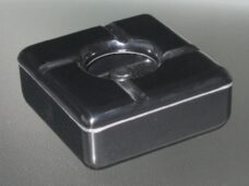 Windproof Ashtray Square Black