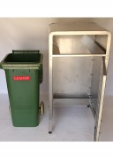Wheelie Bin Enclosure Open Door View