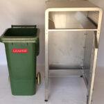 Wheelie Bin Enclosure Open Door View