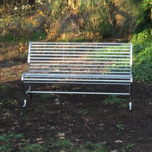 SS Park Bench - Front View